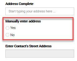 Manually Enter - EN